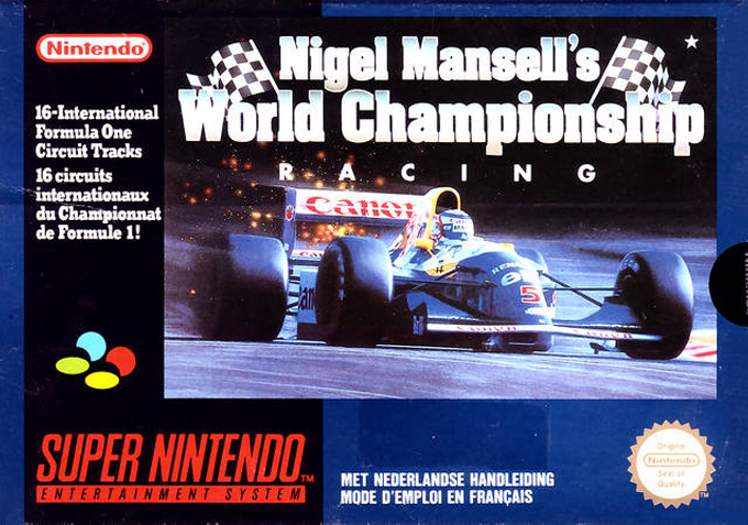 Review: Nigel Mansell's WC Racing on the Super Nintendo