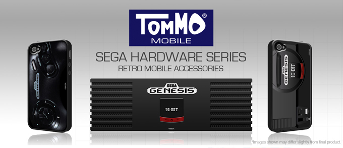 New SEGA Hardware Series Accessories from Tommo | Retro Asylum